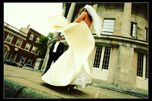 Real Wedding: Modern Elegance via TheELD.com