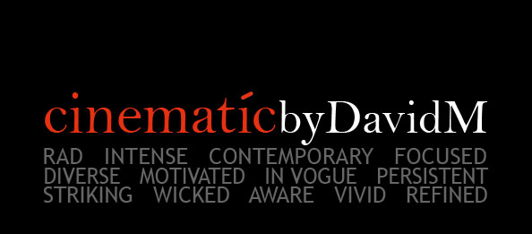 CINEMATICbyDavidM logo